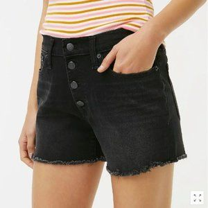 J.Crew Classic Denim Short with Button Fly